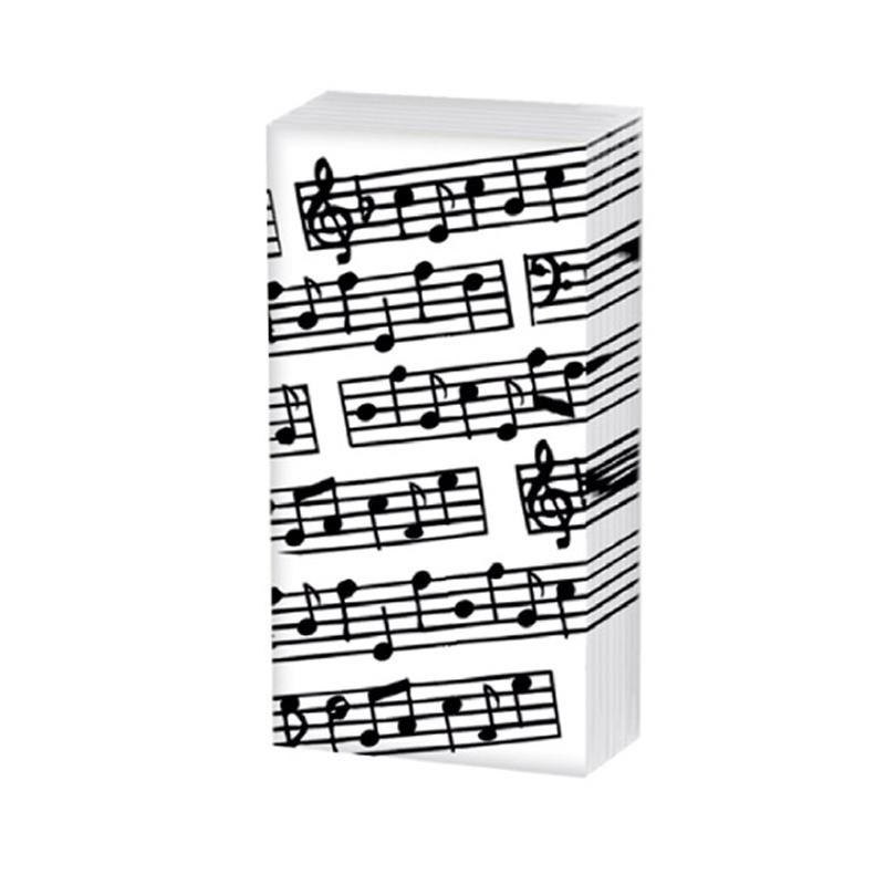 Music Pocket Tissues