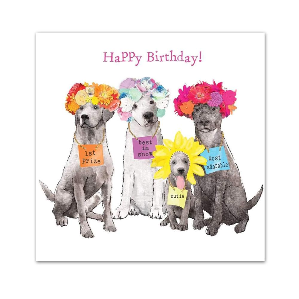 Best in Show Happy Birthday Beverage Napkins