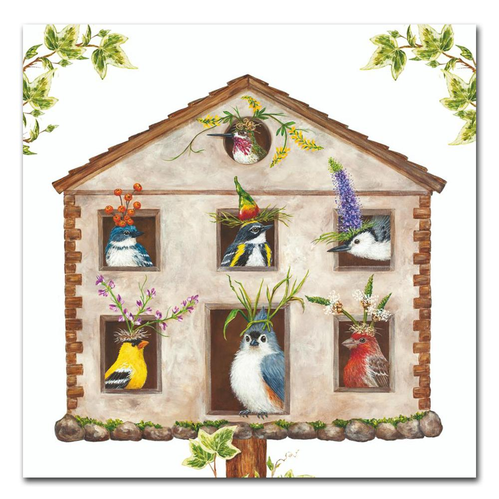 House Party Vicki Sawyer Paper Luncheon Napkins