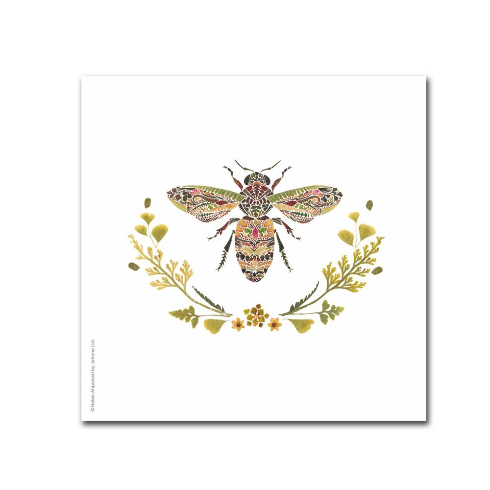 Provence Bee Paper Beverage Napkins