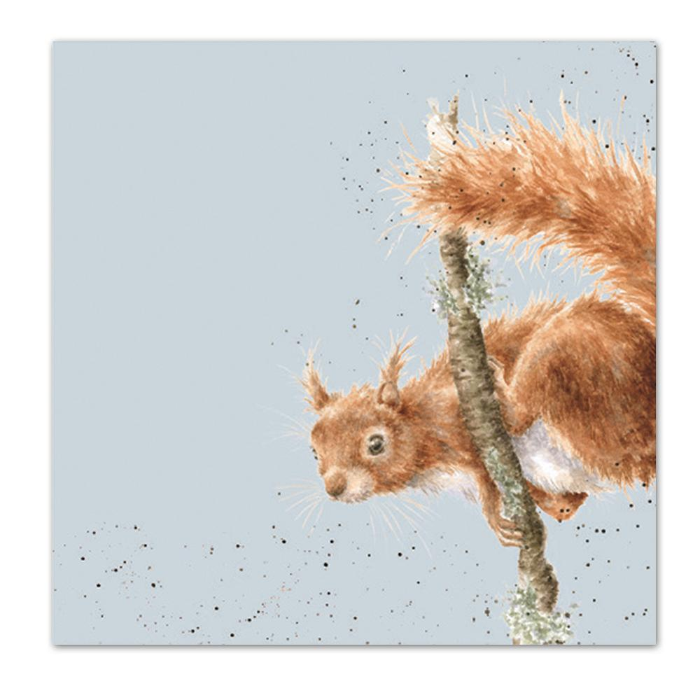 The Acrobat - Squirrel Paper Luncheon Napkins
