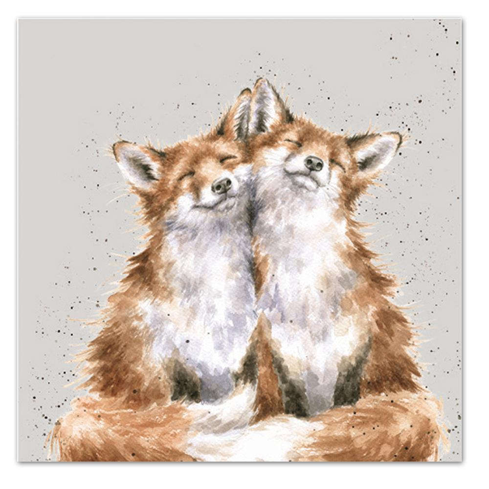 Contentment - Fox Paper Luncheon Napkins