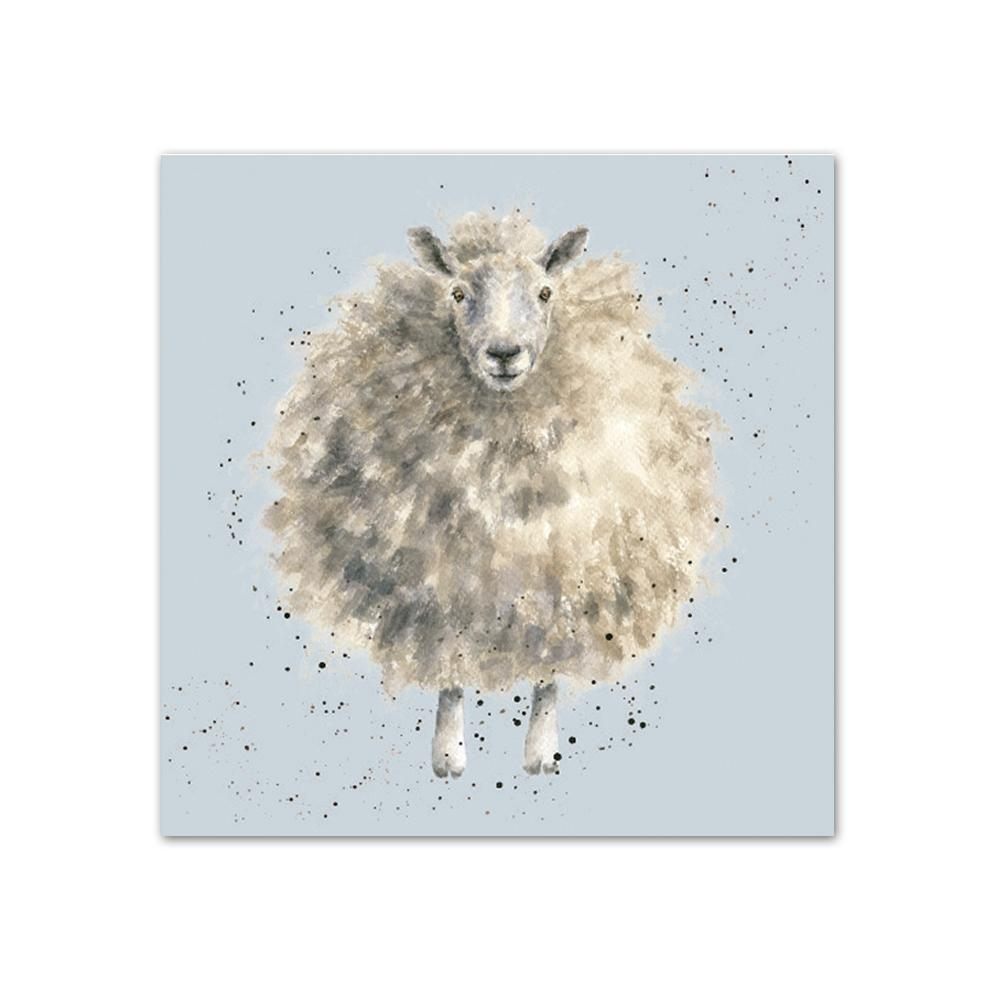 The Woolly Jumper - Sheep Paper Beverage Napkins