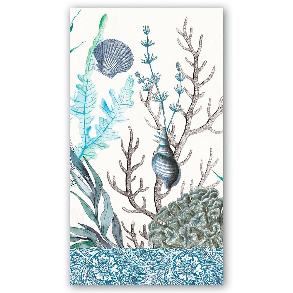 Ocean Tide Paper Guest Towels - Hostess Napkins