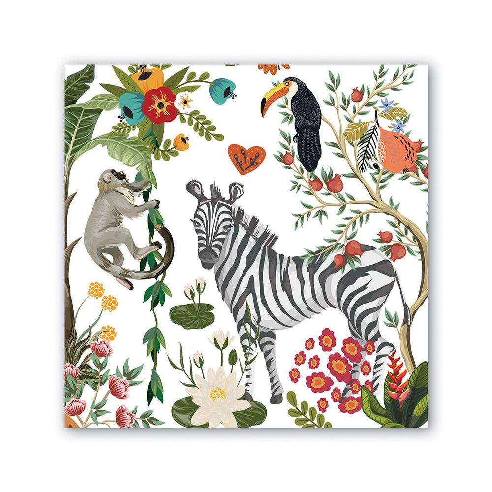 Wildlife Park Paper Beverage Napkins