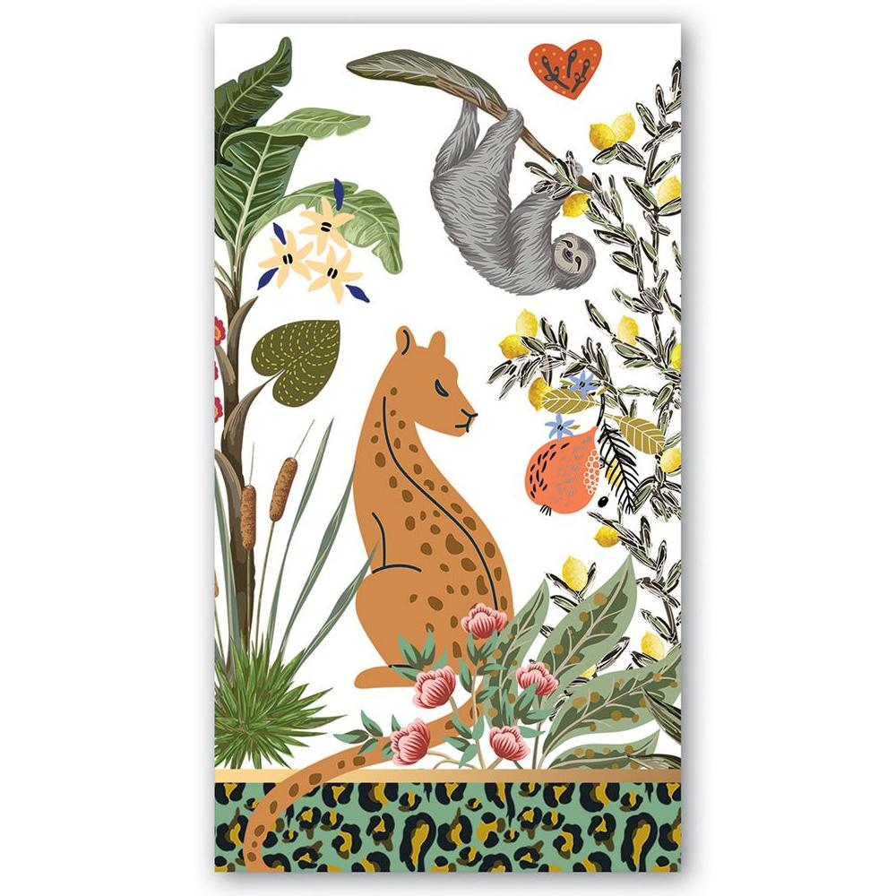 Wildlife Park Paper Guest Towels - Hostess Napkins