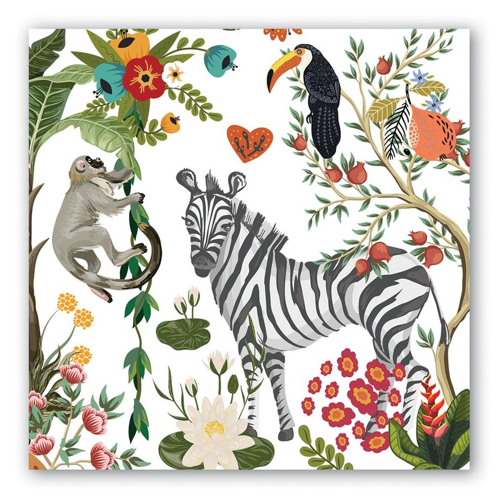 Wildlife Park Paper Luncheon Napkins