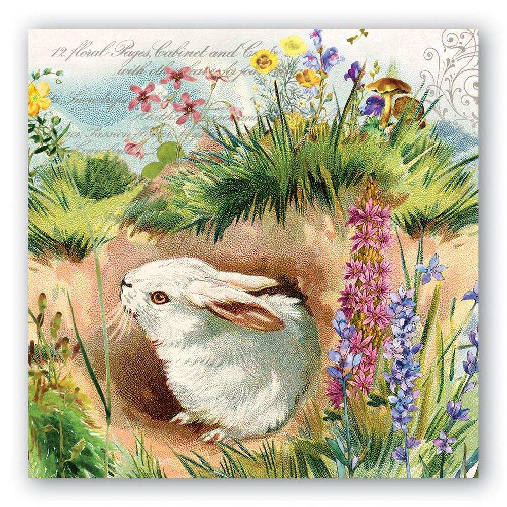 Bunny Hollow Paper Luncheon Napkins
