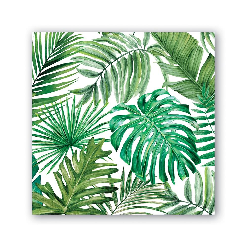 Palm Breeze Paper Beverage Napkins