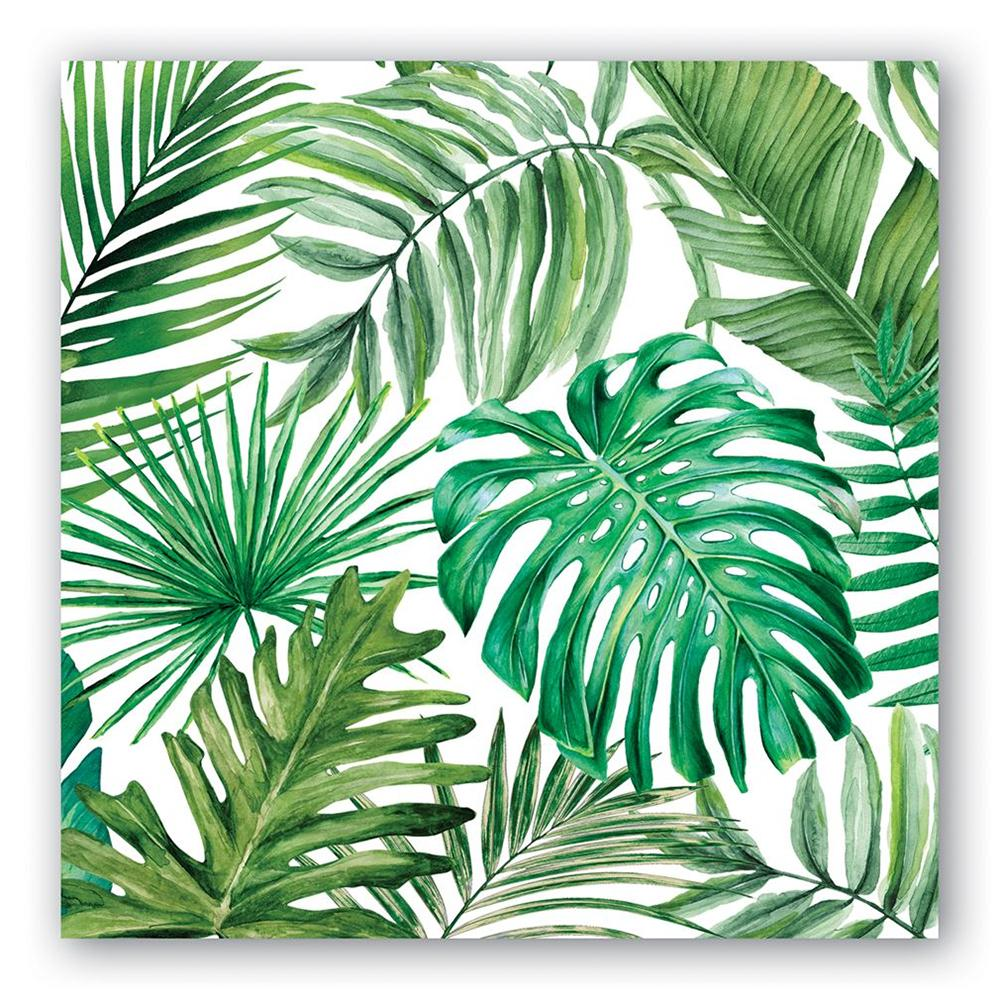 Palm Breeze Paper Luncheon Napkins
