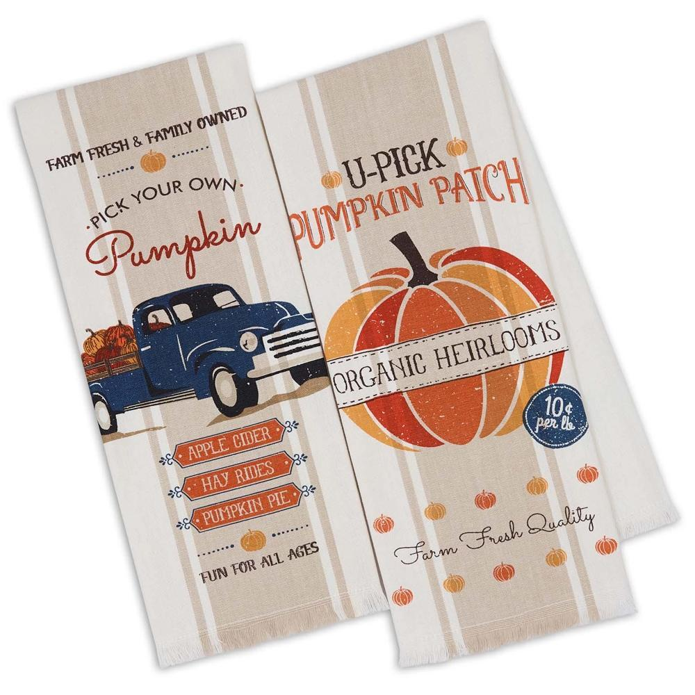 Pumpkin Farm Kitchen Towels (pair)