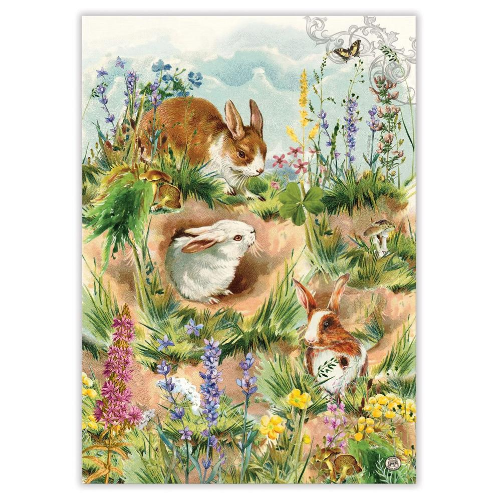 Bunny Hollow Kitchen Tea Towel