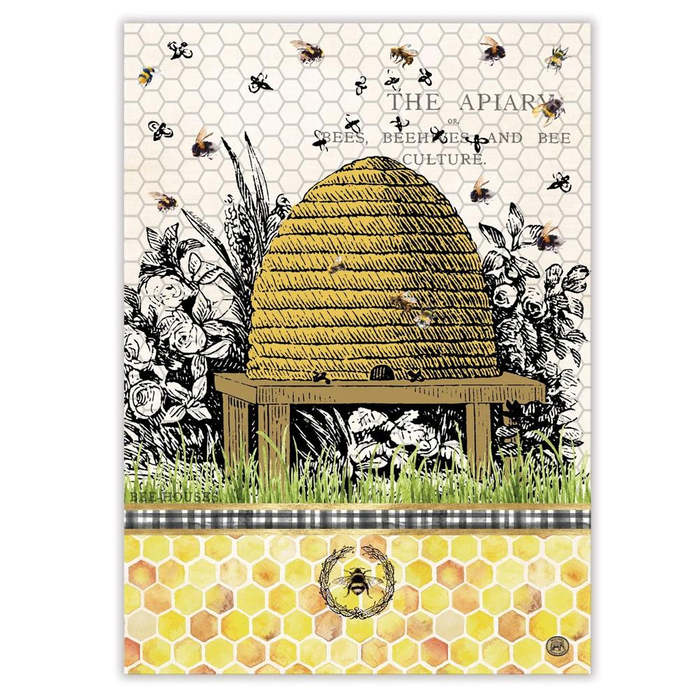 Honey & Clover Kitchen Tea Towel