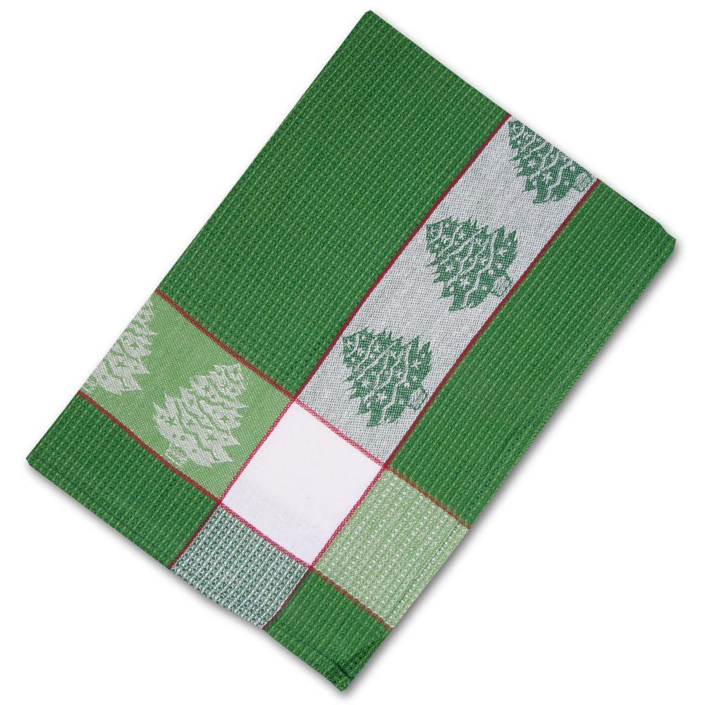 Christmas Trees Waffle Weave Kitchen Towel