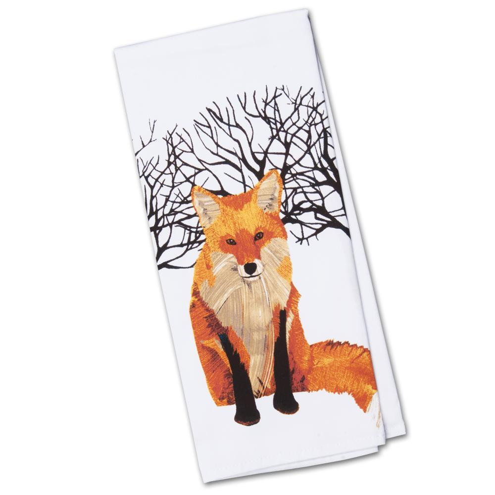 Winter Fox Kitchen Towel