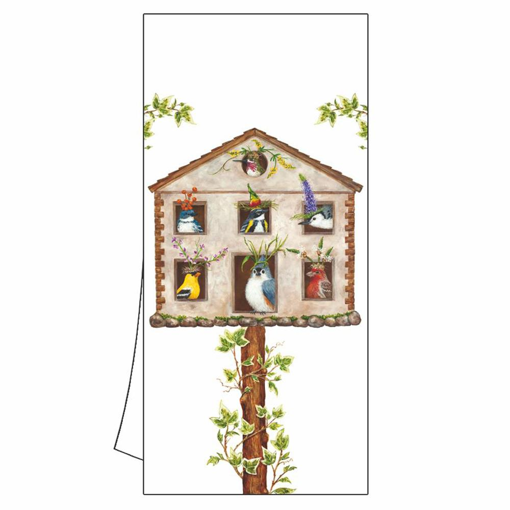 House Party by Vicki Sawyer Kitchen Towel