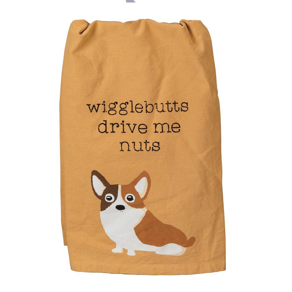 Corgi Wigglebutts Kitchen Towel