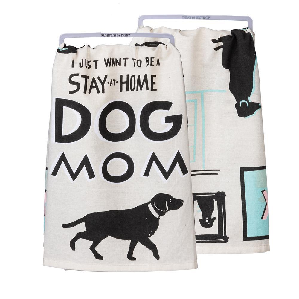 Dog Mom - Funny Kitchen Towel