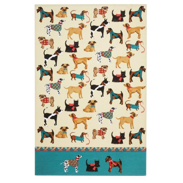 Hound Dogs Kitchen Towel