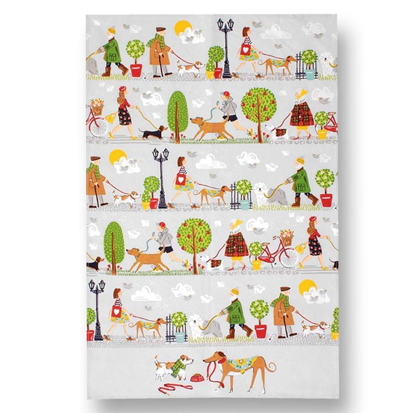 Dog Walkers Kitchen Towel