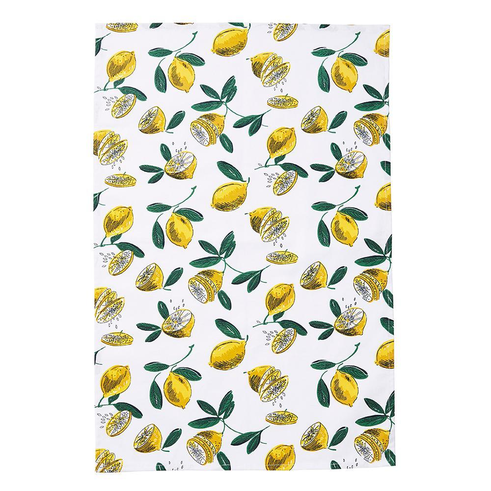 Lemon Grove Tea Towel