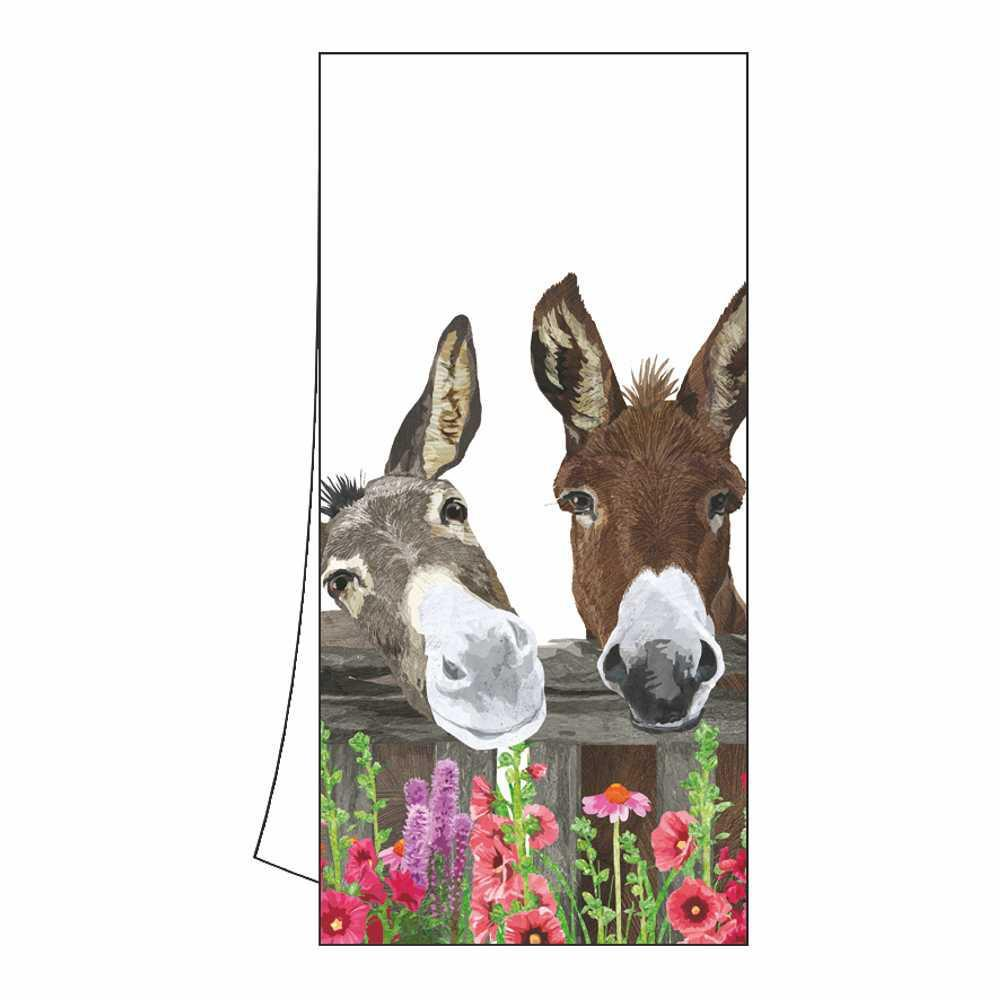Peanut Butter & Jelly Donkey Kitchen Towel