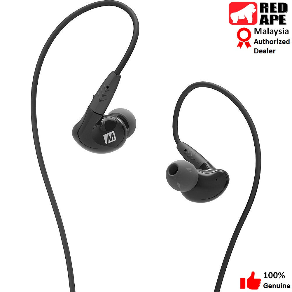 MEE Audio Pinnacle P2 High Fidelity Audiophile In-Ear Headphones with Detachable Cables by Red Ape