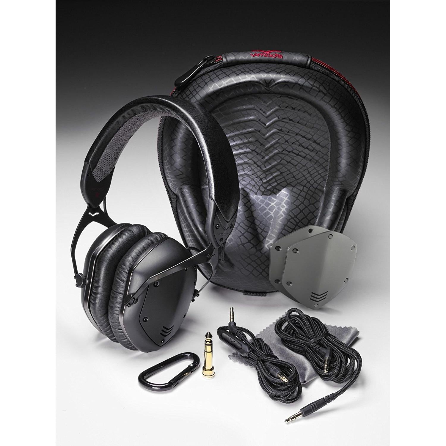 V-MODA Crossfade LP2 Vocal Limited Edition Over-Ear Noise-Isolating Metal Headphone (Matte Black)