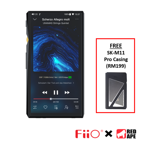 FiiO M11 Pro Portable Music Player with SK-M11 Pro Case