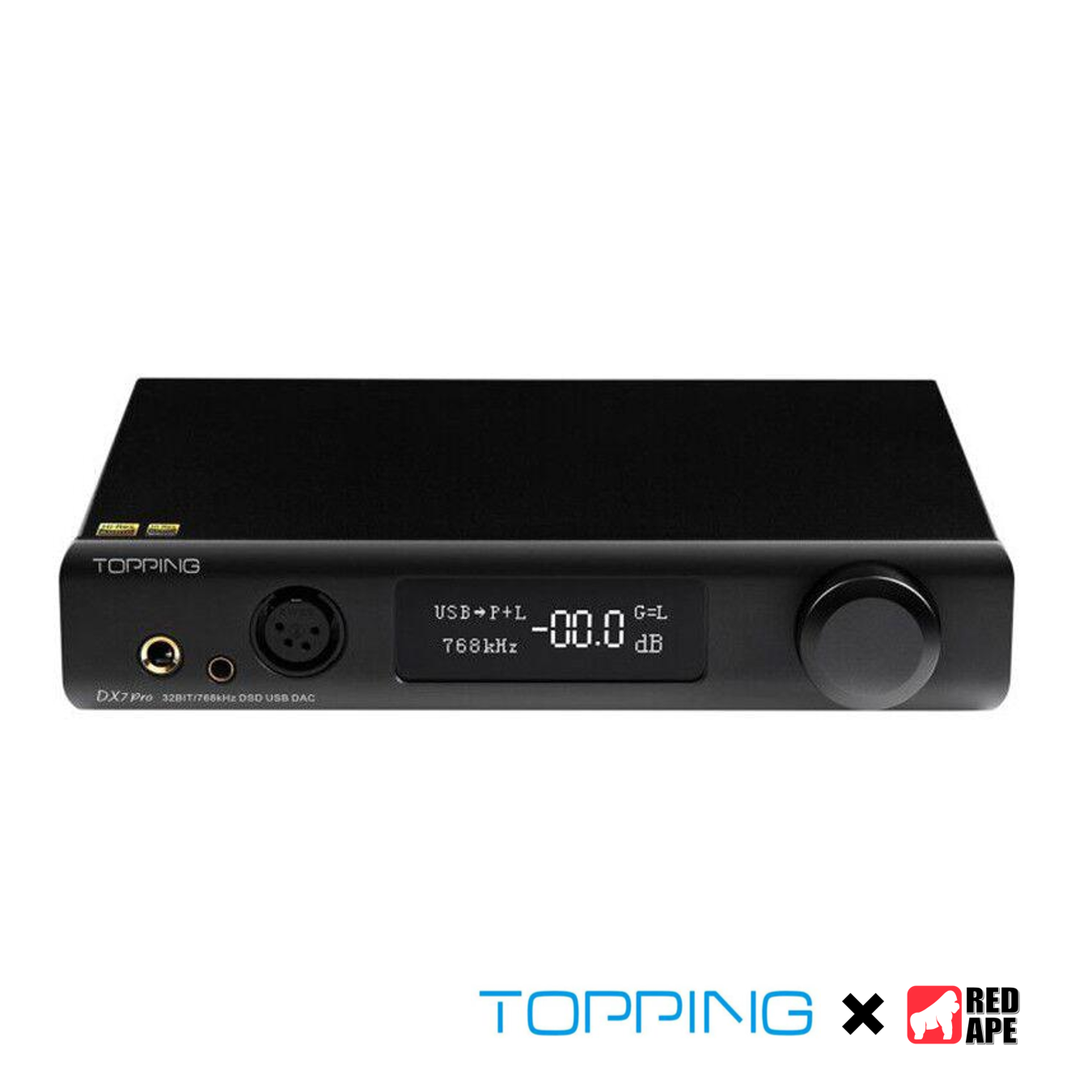Topping DX7 Pro Bluetooth Decoder Headphone Amplifier