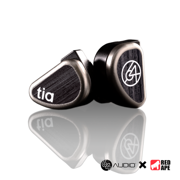 64Audio tia Trio Universal-Fit In-Ear Monitors (Pre-Owned Unit)