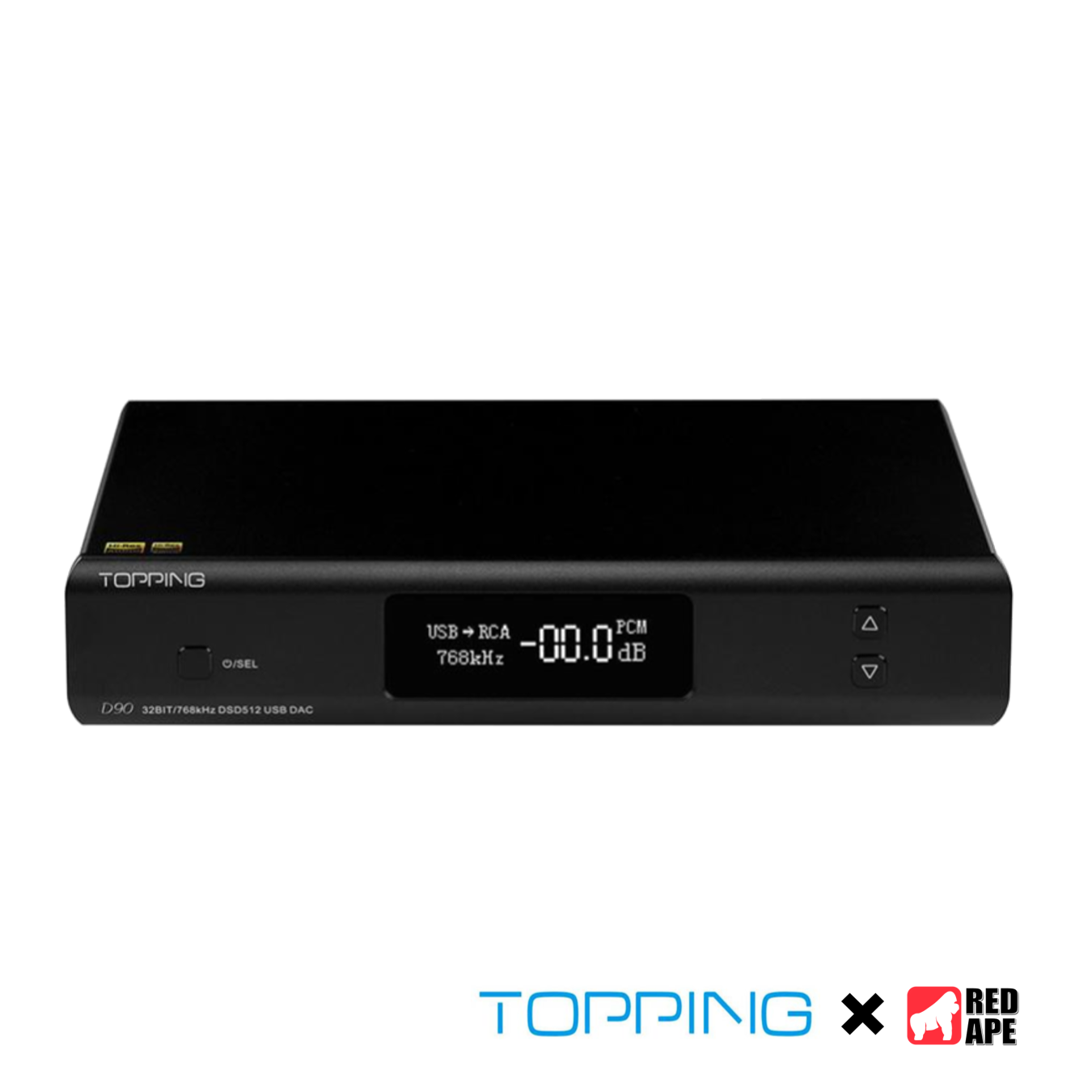 Topping D90 USB DAC Full Balanced Decoder