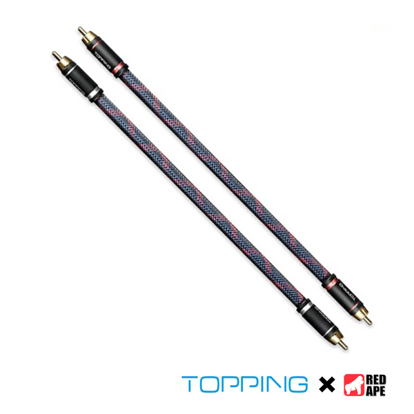 Topping RCA TCR1-25 Professional Audio Cable