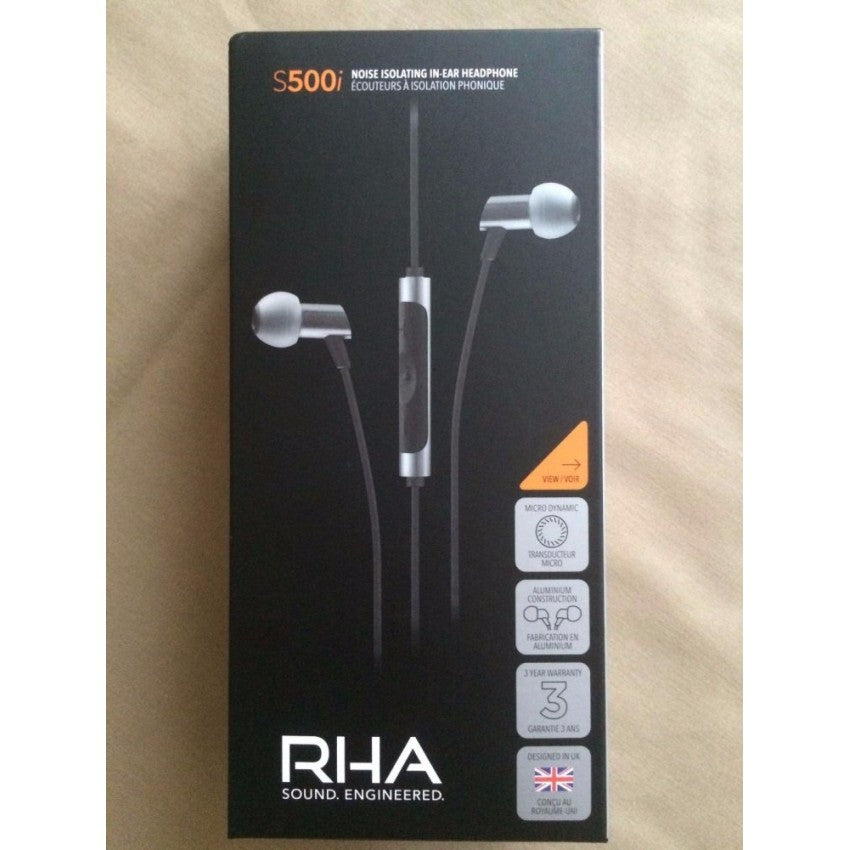 RHA S500i Ultra-Compact Noise-Isolating In-Ear Headphones by RED APE