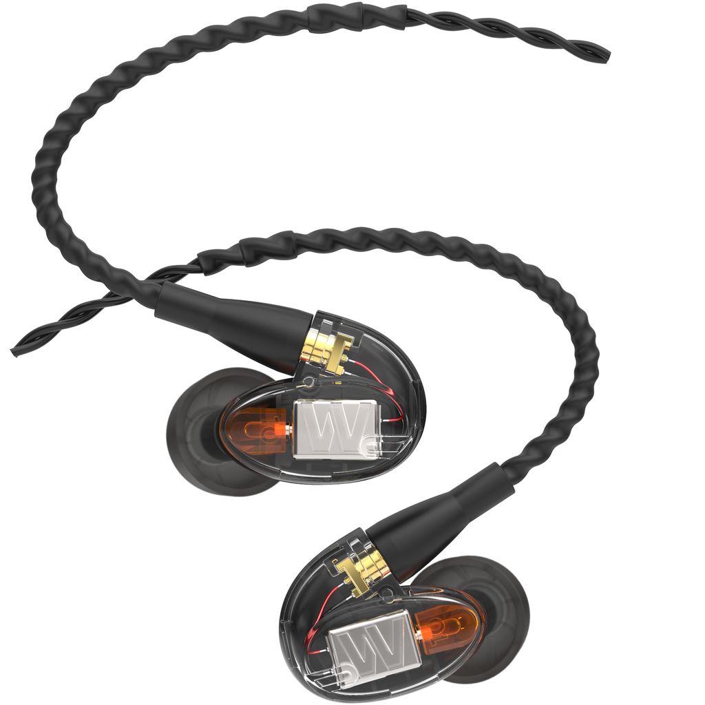 Westone UM Pro10 High Performance Single Driver Noise-Isolating In-Ear Monitors - Clear