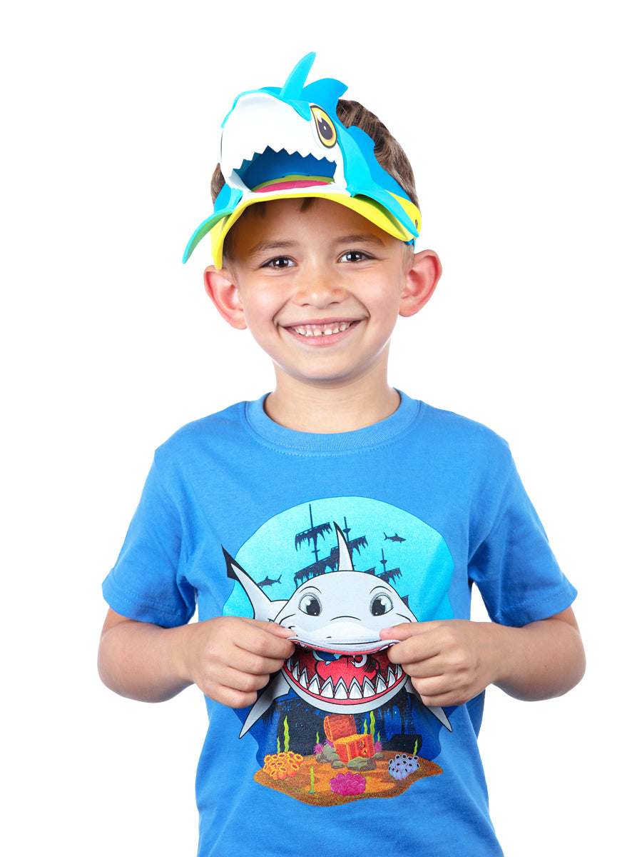 Shark Visor Hat