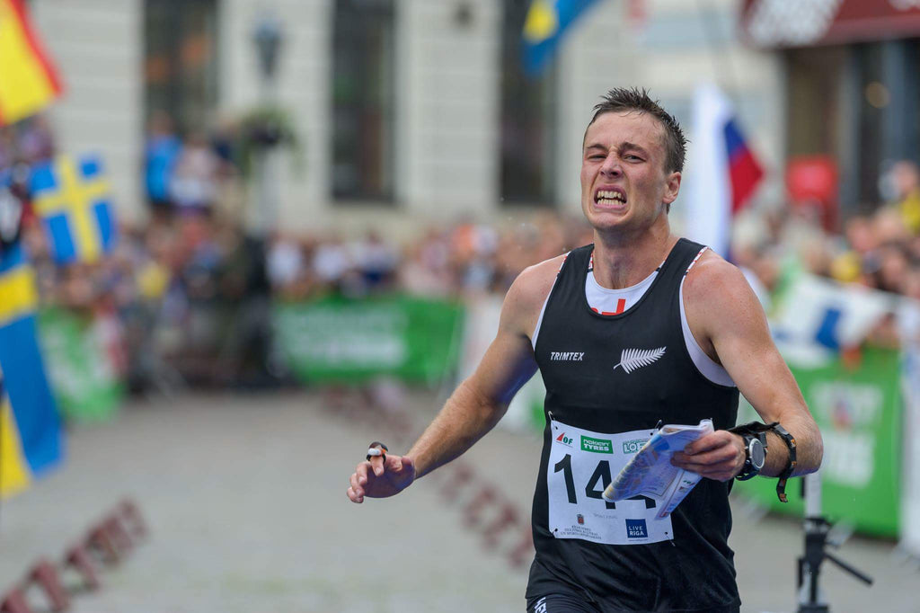 Tim Roberston - New Zealand - Silver Medalist Riga, Latvia