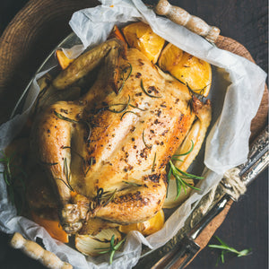Fool-Proof Oven Roast Chicken