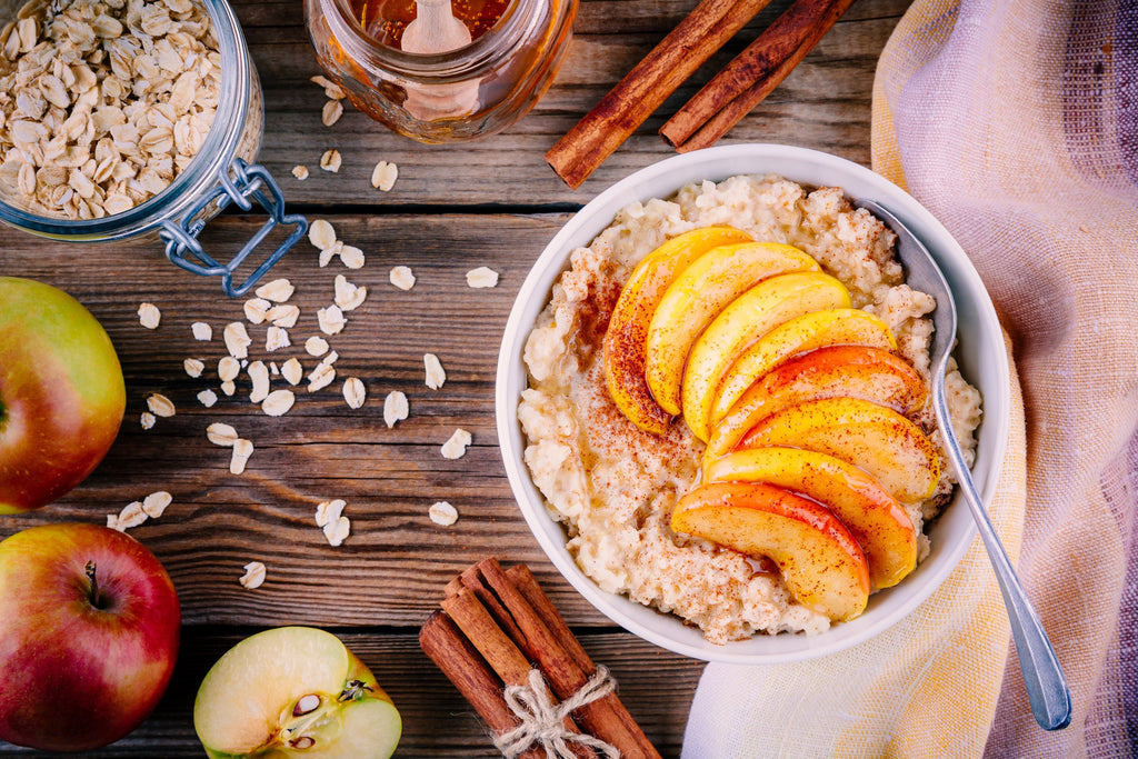 Homemade Apple Cinnamon Oats