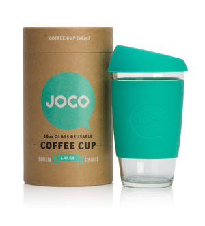 Reusable Glass Coffee Cup