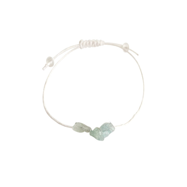 Kyanite + Hemp + Choice of Anklet or Bracelet