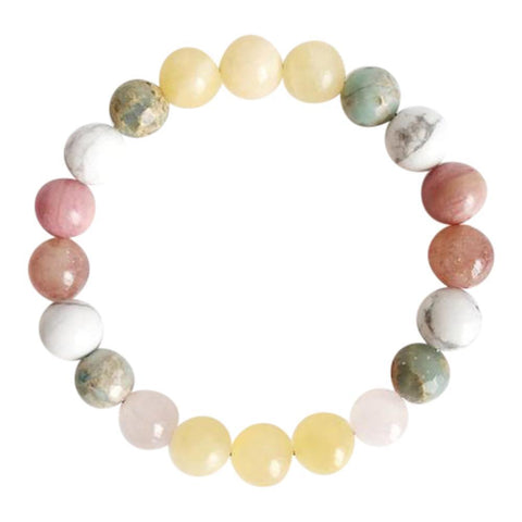Balancing Love Mix  Gemstone Mix Bracelet