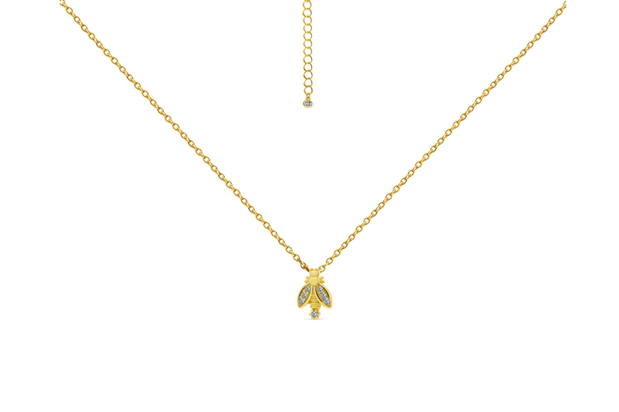 Golden Bug Necklace