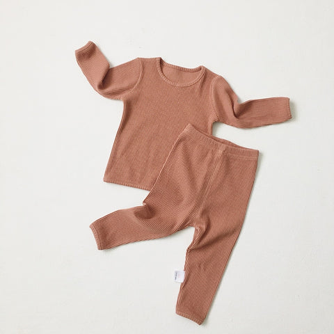 Toddler Ribbed Set for boys and girls