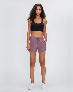 ULTRA-LIGHT Loose Fit Yoga Shorts with Pocket