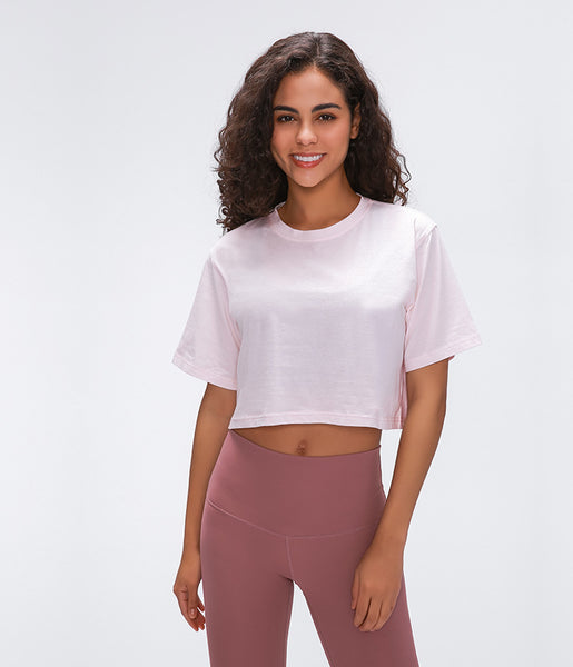 Cotton Cropped Tee