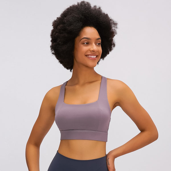 Butterfly Soft Yoga Bra