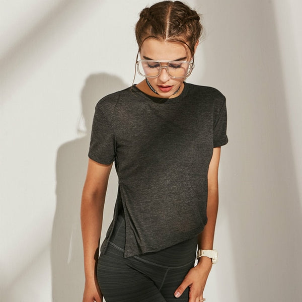 Breathable Crew-neck T-shirt