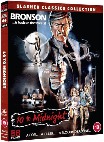 10 to Midnight (Charles Bronson Slasher Classics Collection) Ten Reg B Blu-ray