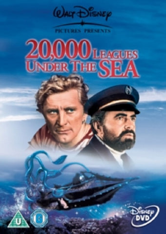 20000 Leagues Under the Sea (Kirk Douglas James Mason) New Region 4 DVD